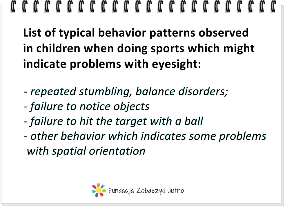 behavioral issues in preschoolers physical activity and eyesight 131