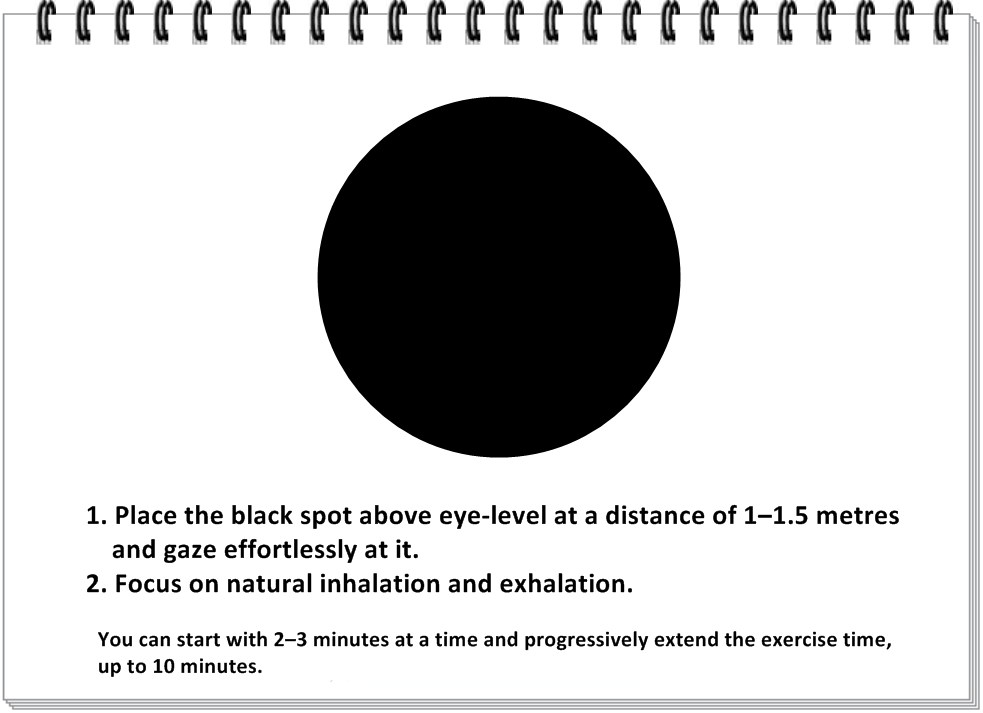 EXERCISE: Practicing with the TARAKA black spot