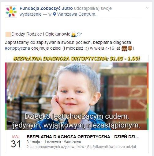 wydarzenie-facebook-bezpłatna-diagnoza-ortoptyczna