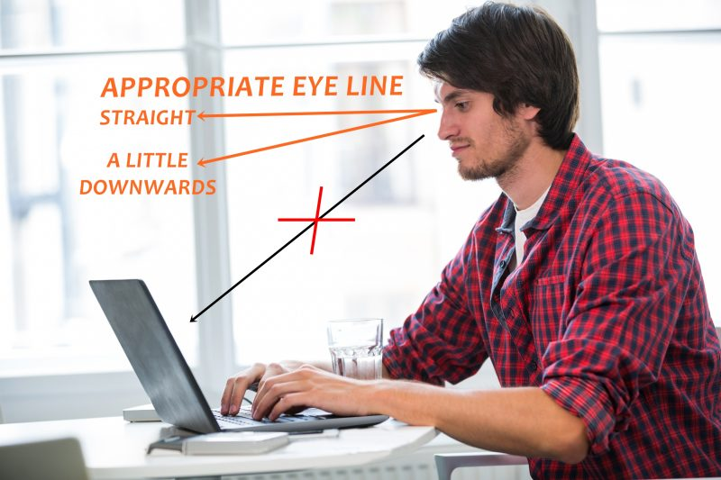 APPROPRIATE EYE LINE