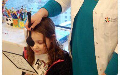 """Badania przesiewowe wzroku u dzieci w Przedszkolu """"Wesoły Pędzelek"""""""