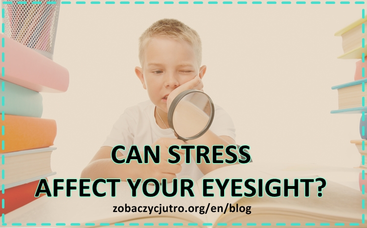INFLUENCE OF STRESS ON THE OPTIC SYSTEM
