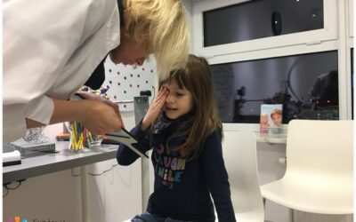 Badania przesiewowe wzroku dzieci w ramach działalności naszej fundacji